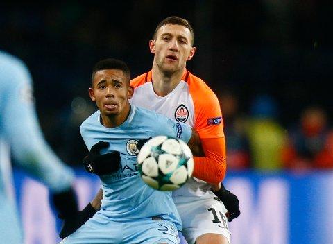 Gabriel Jesus scoret to av målene da Manchester City vant hele 5-0 i fjorårssesongens seriemøte mellom Manchester City og Liverpool på Etihad stadium.