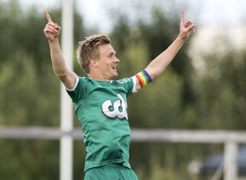 Bjarte Haugsdal har imponert i flere posisjoner for Nest i år. – Jeg kan spille hvor som helst, men det er jo veldig kjekt å score mål, sier osingen. ARKIVFOTO: SKJALG EKELAND