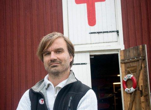 MISTER TILSKUDD: Simon Torgersen, daglig leder i turistforeningen, må bare erkjene at spillemidler kan bli tapt.
