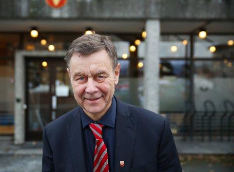 Bent Inge Bye (AP) den siste ordføreren i Nedre Eiker   Foto: Tor Christian Ødegaard