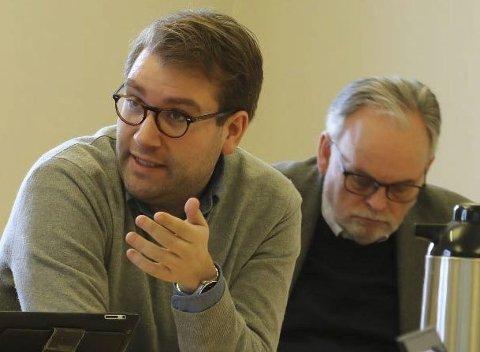 - BRUK KINN: Jacob Nødseth meinte Fellesnemnda for Kinn kommune bør legge møtene sine til kommunen dei er til for.