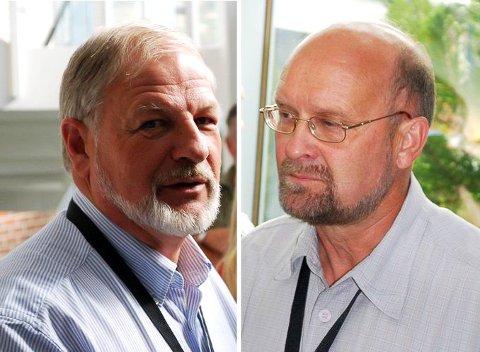 GRÜNDERANE: Oddgeir Igland (68) og Per Nødseth (70) opnar no for nedsal og søkjer seg alliansepartnarar for å ta Fjord Base neste steg inn i framtida.