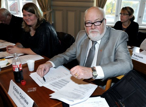 JUBILANT: Eddie Gjerløw (70) på plass i bystyret for Frp. (Arkivfoto)