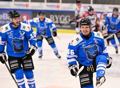 MÅ FÅ ORDEN: Narvik hockey må orden på forsvarsspillet når mostanderen har flere spillere på isen.