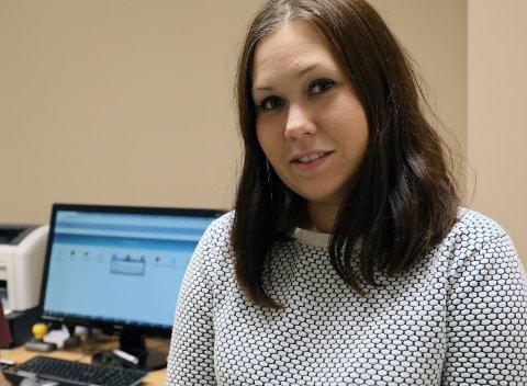 BUP-LEDER: Malin Wold er seksjonsleder for barne- og ungdomspsykiatrien ved UNN Narvik