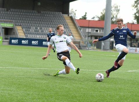 NYTT MÅL: Andreas Skattum Nordby har scoret jevnt og trutt for HBK denne sesongen.