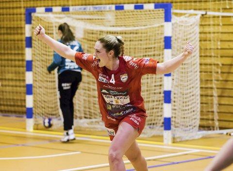 SENTRAL SPILLER: Pernille Wang Skaug har på alle måter vært ekstremt sentral skikkelse i håndballeventyret i Halden. Arkivfoto: Hans Petter Wille