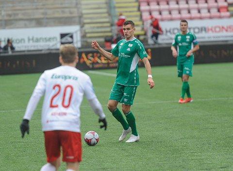 Deni Hasanagic scoret Kviks mål..