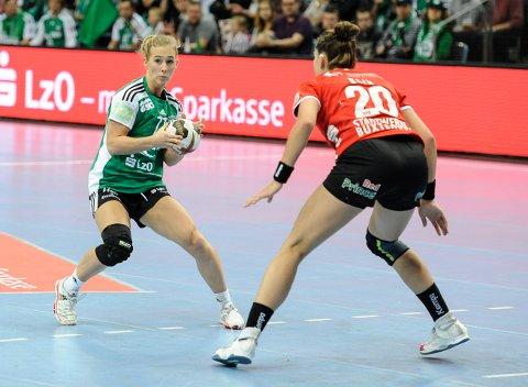 Malene Staal er en av de erfarne spillerne på laget til Oldenburg.