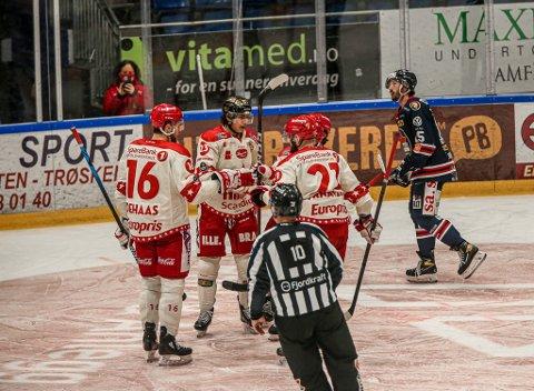 Sparta tok imot Stjernen i Sparta Amfi onsdag 30. desember. Siden har hittil 42 personer fått bekreftet koronasmitte.