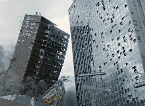 SKJELVET: Katastrofefilmen «Skjelvet» har premiere fredag, og vises på Edda og alle andre kinoer i distriktet.