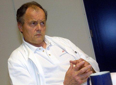 SER TILBAKE: Reinert Rød avbildet i tiden da han var lege, og da han i 2006 havnet øverst på inntektstoppen ved en feil.