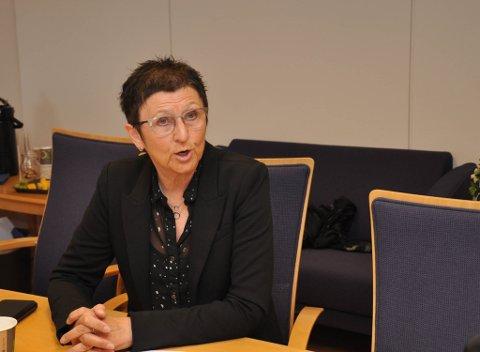 ORIENTERTE: Barnevernsleder Mona Solheim i Alta kommune orienterte i forrige uke hovedutvalget for oppvekst og kultur om ståa hos barnevernet i Alta.