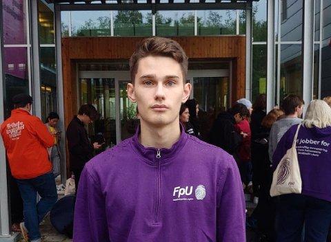 JA TIL NÆRING: Natur og Ungdom setter følelser framfor fakta, ifølge Sindre Kristiansen i Troms- og Finnmark FpU.