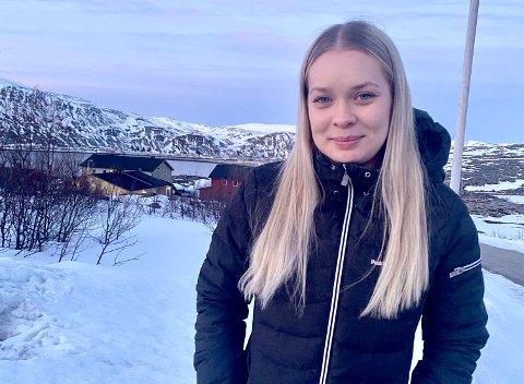 KOM HJEM: Etter mange år i Harstad, kom Jannicke Marie Angell Jahre tilbake til Kjøllefjord.