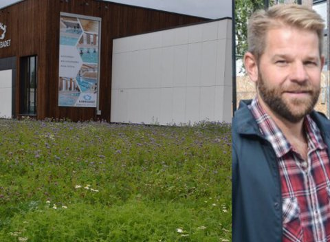 Forklarer: Eiendomssjef Jahn Arvid Svendsen i Aurskog-Høland.