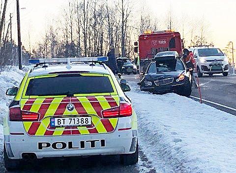Mistanke om fyllekjøring: Daglig blir folk stoppet mistenkt for kjøring i rus. Foto: Bygdeposten