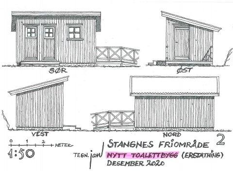 Kragerø Turlag håper at de kan begynne på byggingen av det nye toalettet i mars 2022.
