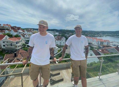 PARTNERE: Marius Kjølseth (t.v.) og Pål-Fredrik Brekka står bak nysatsingen Brekka & Kjølseths Designs AS.