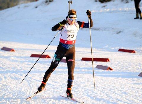 Martin Femsteinevik både gjekk fort og skaut bra då det blei fjerdeplass på opningsdistansen i norgesmeisterskapet.