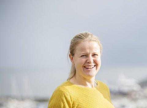 Hilde Vormedal Nybø trer inn i rolla som ny ansvarleg redaktør i Sunnhordland i dag, onsdag 1. april. (Foto: Sunnhordland).