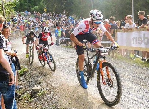 TAKKER NEI: Erik Hægstad, som har imponert i VM og i verdenscupfinalen i terrengsykling, sa nei til et spansk profflag.