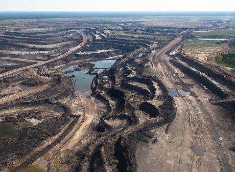 Ødeleggelse av natur i Canada