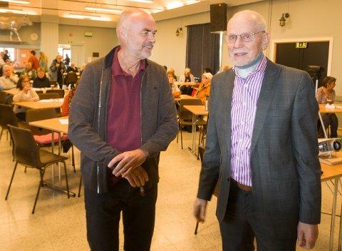 KRITIKK: Halvor Næss og Peter Dvergsdal kom med skarp kritikk av koronahåndteringen i Norge.