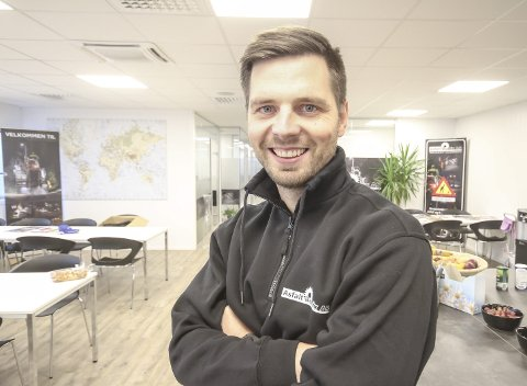 DAGENS NAVN: Eyvind Brynildsen (30). Pasjonert rallykjører og jordnær næringslivsaktør. Gift, tre barn.