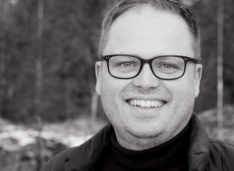 Gründer og nyvalgt østfold-ambassadør Gift, barn 39 år