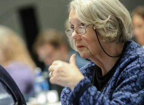 AVVISTE ANKLAGER: Gretha Kant (H) mener at kommunen både har gått og fortsatt går lovlig fram i saken om havnelageret til Rockewools stein.