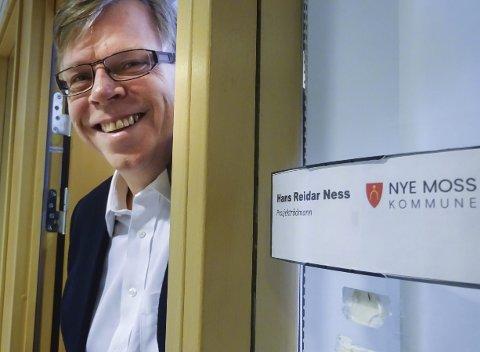 Hans Reidar Ness (57) er prosjektrådmann i Nye Moss. Han er utdannet siviløkonom fra USA, bor i Drøbak og har tre barn.