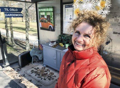DAGENS NAVN: Grete Haaland. Daglig leder i Fretex Moss. Gift, barn og barnebarn-