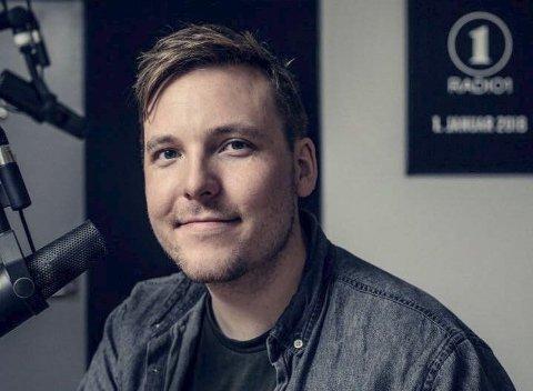 PROGRAMLEDER: Niklas Baarli har fått jobb i Radio Rock hvor han skal være med å lede morgensendingene.