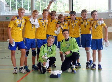 HENTET HJEM POKALEN: Bækkelagets G14 vant en jevn finale mot DFI.