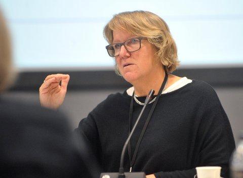 EKSTRATILTAK: Pasienter fra Nordre Follo vil bli ansatt som smittet inntil det motsatte er bevist, opplyser sykehusdirektør Alice Beathe Andersgaard.