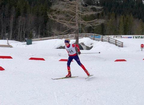 Eskil Fauchald gikk inn til andreplass i G13 på Lygna.