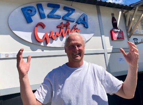 GRÜNDER: Bjørn Nilsson har drevet PizzaGutta i 19 år.