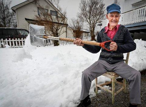 – Det er ikke vantrivelig å bli gammel, sier Leif Hulbekkmo som fyller 97 år om en måned.