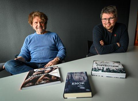 Forfatteren Bjørn Johnsen og designer David André Erichsen har produsert flere bøker sammen. De to har kjent hverandre siden Johnsen var musikklæreren til Erichsen på ungdomskolen.
