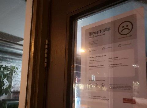 STENGT: Brumunddal Pizza ble torsdag stengt av Mattilsynet etter kontroll.