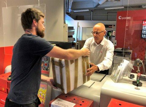 LEGGES NED: Gjøvik postkontor er blant postkontorene som legges ned.