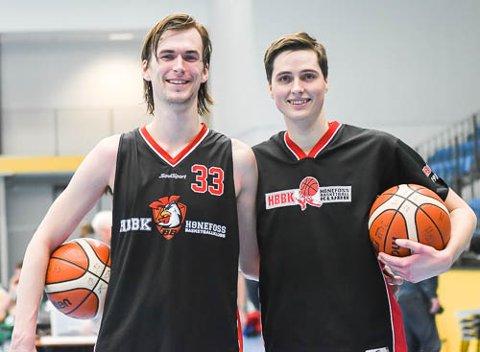 FIKK SKRYT: Henry McCarthysynes det er flott at Magnus Rolfsøn pendler fra Gjøvik for å spille på HBBK.