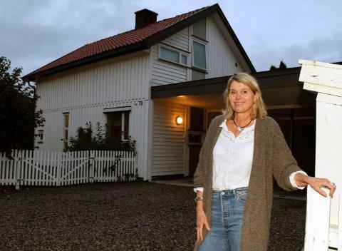 EKSTRA: Anne L. Heimsnes trengte en ekstrainntekt og begynte å leie ut huset sitt på Benterud.