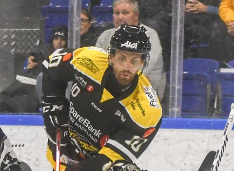 SCORET: Brett Perlini satte inn Panthers andre mål i Fredrikstad.