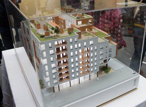 POPULÆRT: Over 1100 ønsker å flytte inn i Fagerborgkvartalet. De første leilighetene skal stå klare i april 2022.