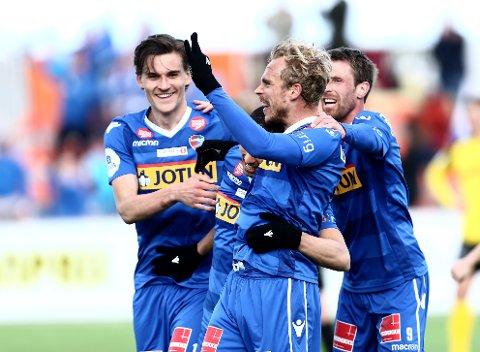 SCORING: Pontus Engblom har etter åtte scoringer så langt denne sesongen, hatt mange muligheter til å juble.
