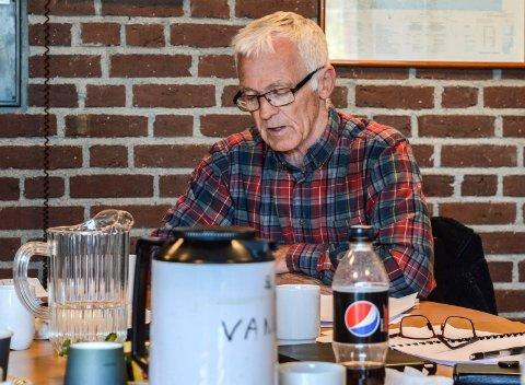 ANMELDELSEN: – Hverken Morten Sjøstedt eller Miriam Schei har mottatt en eneste opplysning fra meg om omstendighetene rundt kontrollutvalgsmøtene 27. og 28. februar i år, sier Arne Larsen, tidligere leder av utvalget.