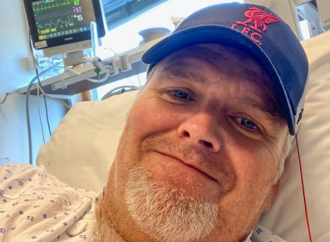 INNLAGT: Frank Ståle Myrmel fikk alvorlige bivirkninger av koronavaksinen. Symptomene han fikk, stemte ikke med de vanlige beskrivelsene av det han hadde pådratt seg.