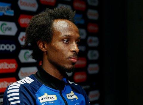 OPPLEVD RASISME: Kristiansund-spiller og mossing Amin Askar har opplevd rasisme både på og utenfor fotballbanen. Nå håper at 2020 kan bli et vendepunkt i rasisme-kampen.